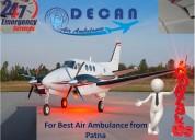 Full-fledged air ambulance in patna generates jour
