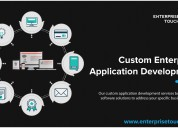 Custom enterprise application development