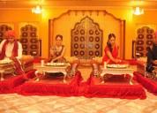 Rajasthani food thali folk dance mahendi corner