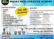 Diksha  skill enhancer  academy- professional  it