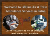 Approachability to air ambulance in patna at ease