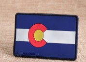 Colorado state flag pvc patches