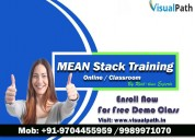 Mean stack online training | mean stack training