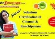 Best selenium certification in chennai