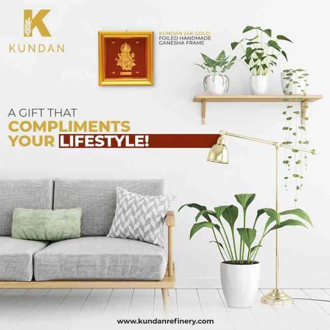 Best  Decorative Frames for Home  Kundan
