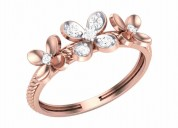 Rose gold ring price