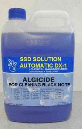 SSD CLEANING SOLUTION FOR COATED BANK NOTES