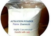 Activation powder chemicals & ssd solution