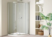 Dabbl brand- glass shower cubicle, shower doors, e