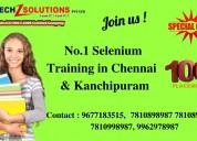 Selenium training in chennai | kanchipuram