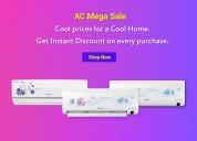 Best inverter ac | buy split ac online | sathya