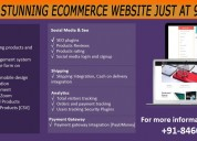 Get your stunning ecommerce website just at 9999/-