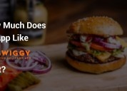 Cost to develop food ordering app like swiggy