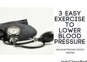 High blood pressure exercise program!