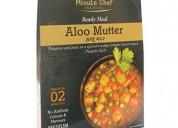 Minute chef- ready to eat aloo mutter, 300g