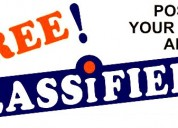 Post free classified ads in bangalore