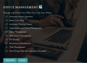 Full functionality office management software