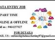 Online part time jobs.