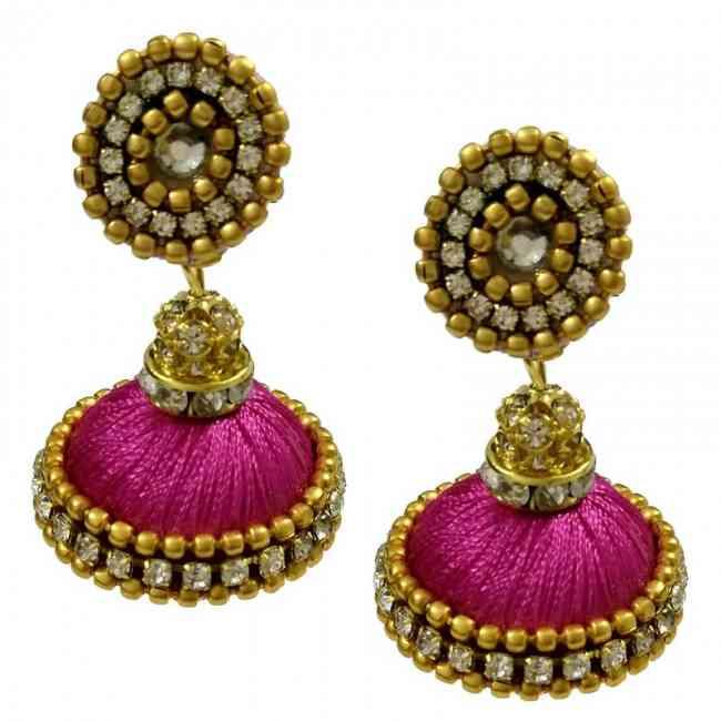 Buy Pink Earrings Designs at Best Price