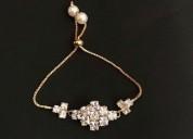 Habereindia - charm bracelet/ethnic bracelet/fanc