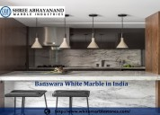 Best banswara white marble exporter in india shree