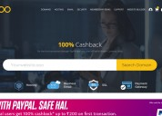Dot ooo paypal offer,100% exclusive cashback
