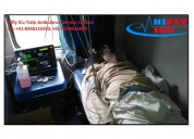 Get best icu train ambulance in varanasi by hifly