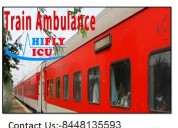 Pick-low-fair icu train ambulance services from lu