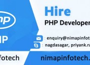 How to outsource developer for php-nimap infotech