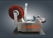 Semi automatic label applicator machine manufactur