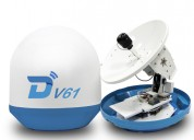 Ditel v61 63cm ku band marine satellite antenna