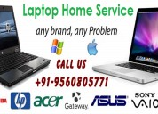 Top laptop home service in noida only rs.250