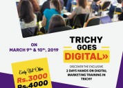 Two days workshop on digital marketing - march 9 &