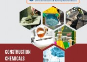 Construction chemicals: buy online at lowest price