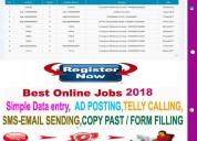 Guaranteed income data entry with bonus free jobs