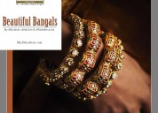 Gold traditional bangles jewellery online