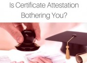 Attestation services provided