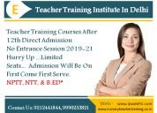 Nursery primary teacher training course  in delhi.