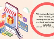 Get up to 50% off on mobile app development