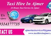 ajmer taxi, online taxi provider in ajmer,