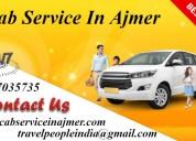 Cab service in ajmer, cab hire in ajmer,
