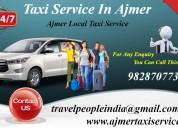 taxi services in ajmer, taxi in ajmer,