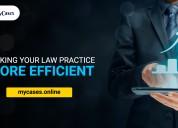 Advocate case management software
