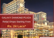Galaxy diamond plaza  at noida extension