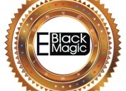 All problems solve through blackmagic for love in