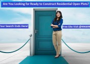 Cheapest price residential open plots for sale