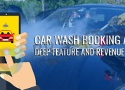 Best car wash app clone script development company