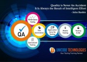 Software testing courses in ahmedabad- unicode tec