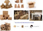 Top carton box manufacturers in delhi