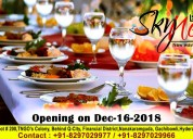 Corporate lunch services in gachibowli | skynest